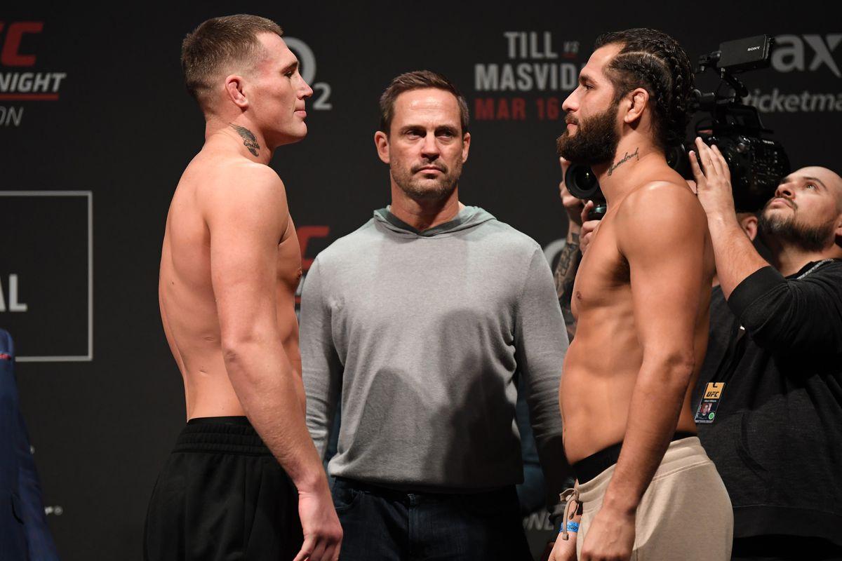 UFC London Results: Till vs. M...