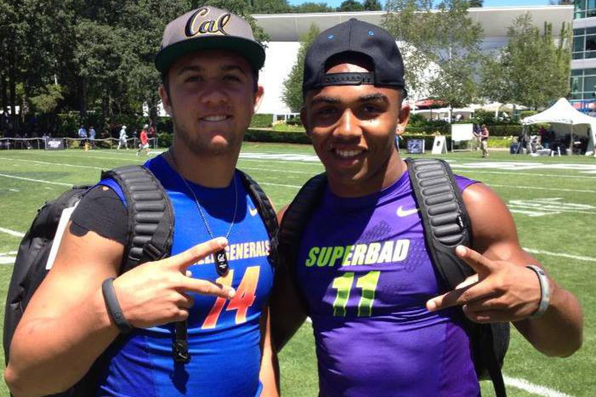 Christian Kirk (right) will be releasing his top 10 list of schools today.