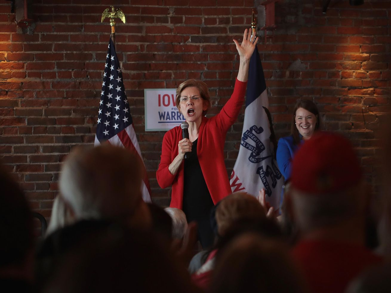 Elizabeth Warren thinks the government needs to break up Facebook, Google, and Amazon.
