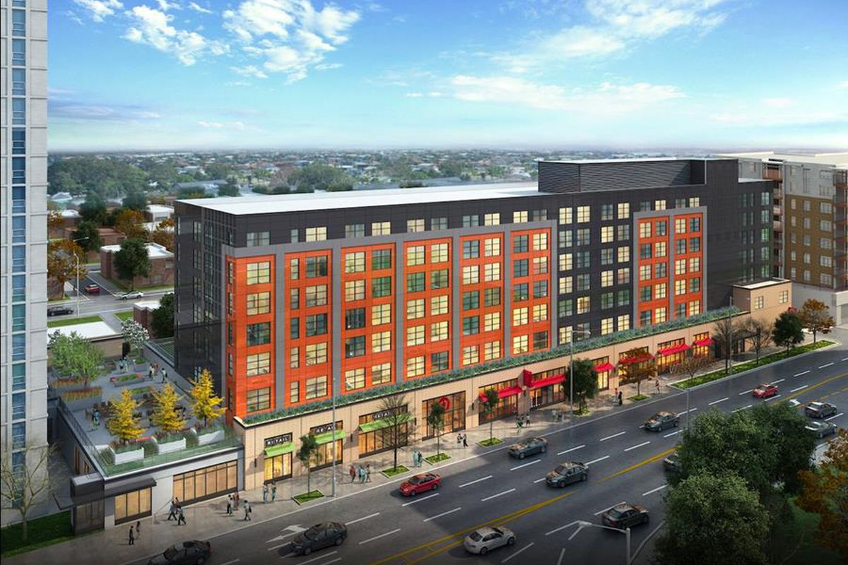 Mixed Income Mixed User With Target Store Proposed Near Loyola Campus Curbed Chicago