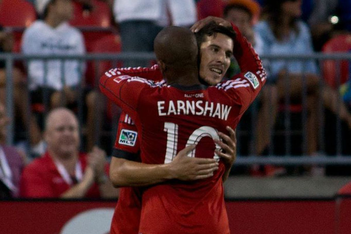 Let's hope Rey and Earnshaw have more reasons to hug today.