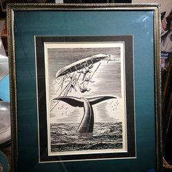 <b>Elephant in the Attic</b>  Moby Dick book print, $95 (originally $115)