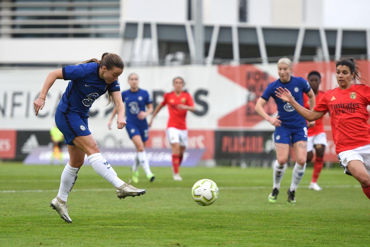 SL Benfica Women v FC Chelsea Women - UEFA Women's Champions League Round of 32: First Leg