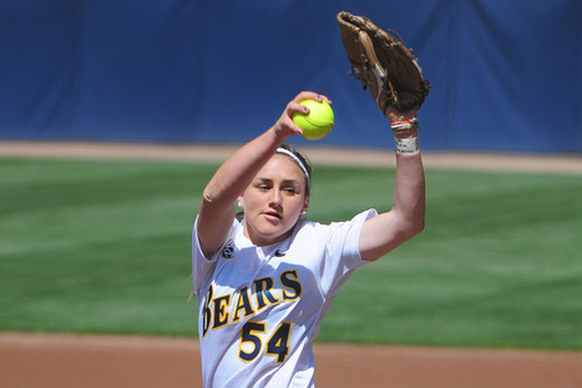 With Jolene back on the mound you know the Bears are in good shape.