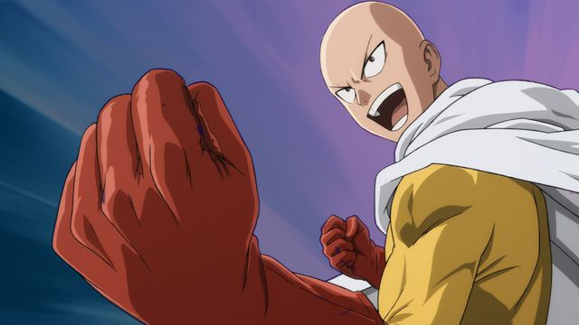 One Punch Man anime character