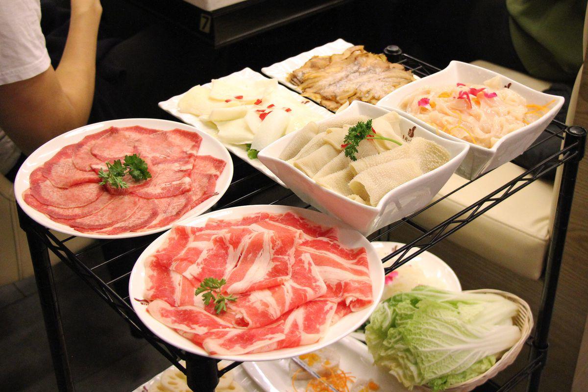 Liuyishou Hot Pot's meats
