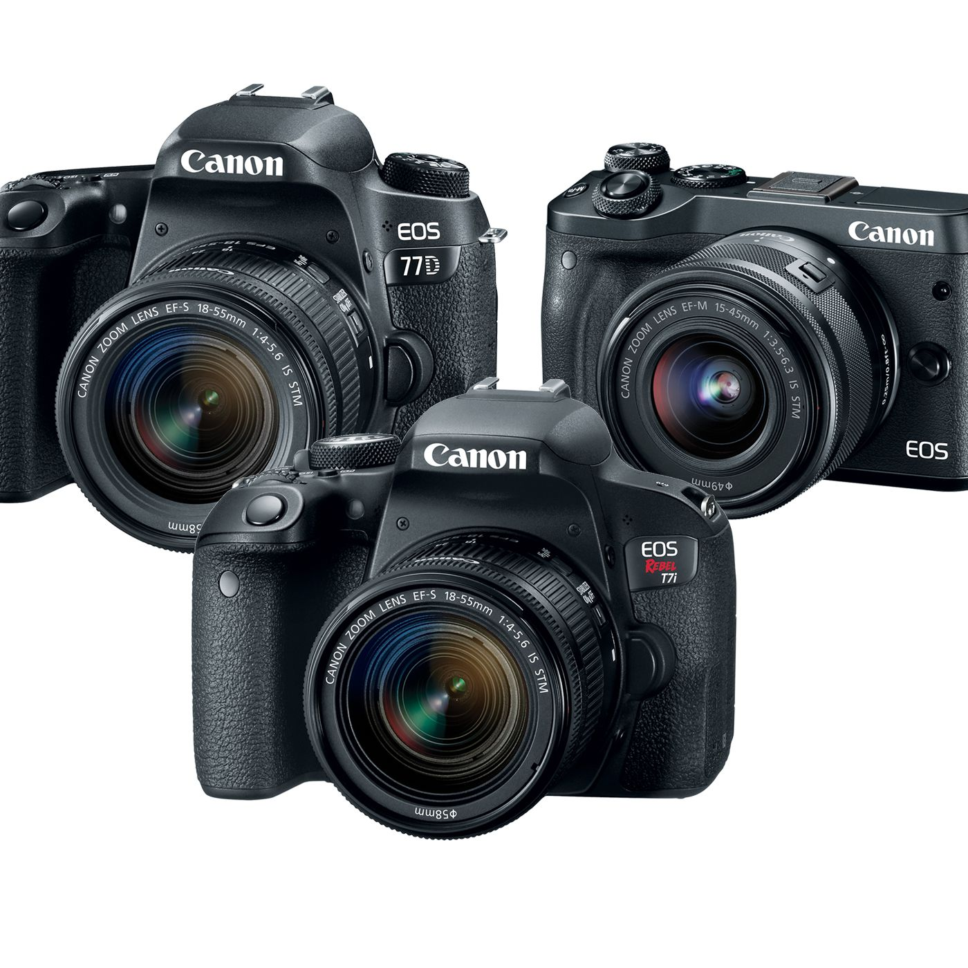 Canon announces three new cameras and none of them shoot 4K