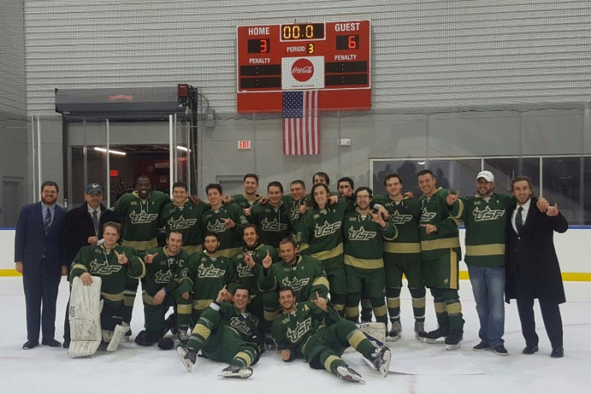 8f87ccee2 The USF Ice Bulls are one of Tampa Bay s two hometown college hockey teams  — the other is the University of Tampa. The Ice Bulls are a club-level team  that ...