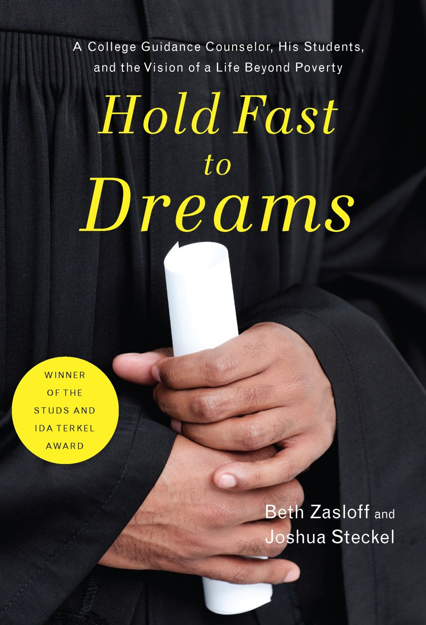 Hold Fast to Dreams was published by The New Press in April 2014.