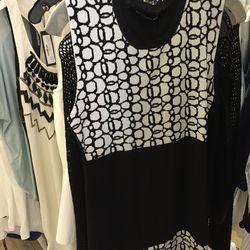 Knit dress, $195 (originally $525)