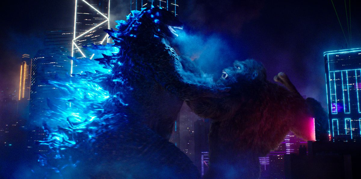 Godzilla and Kong go toe-to-toe in Godzilla vs. Kong