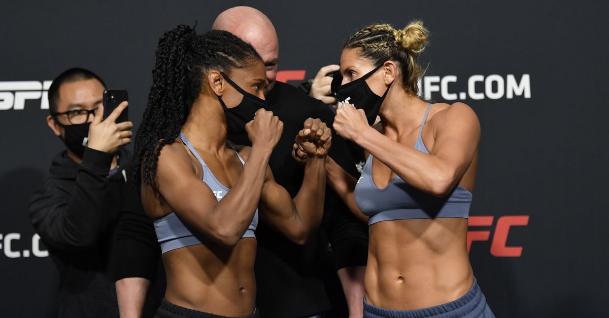 Angela Hill vs. Ashley Yoder 2 postponed due to COVID-19 protocols, moved to UFC Vegas 21