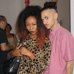 Stylist Amelian Hamilton and Puja Jewelry designer Joshua Titchkosky