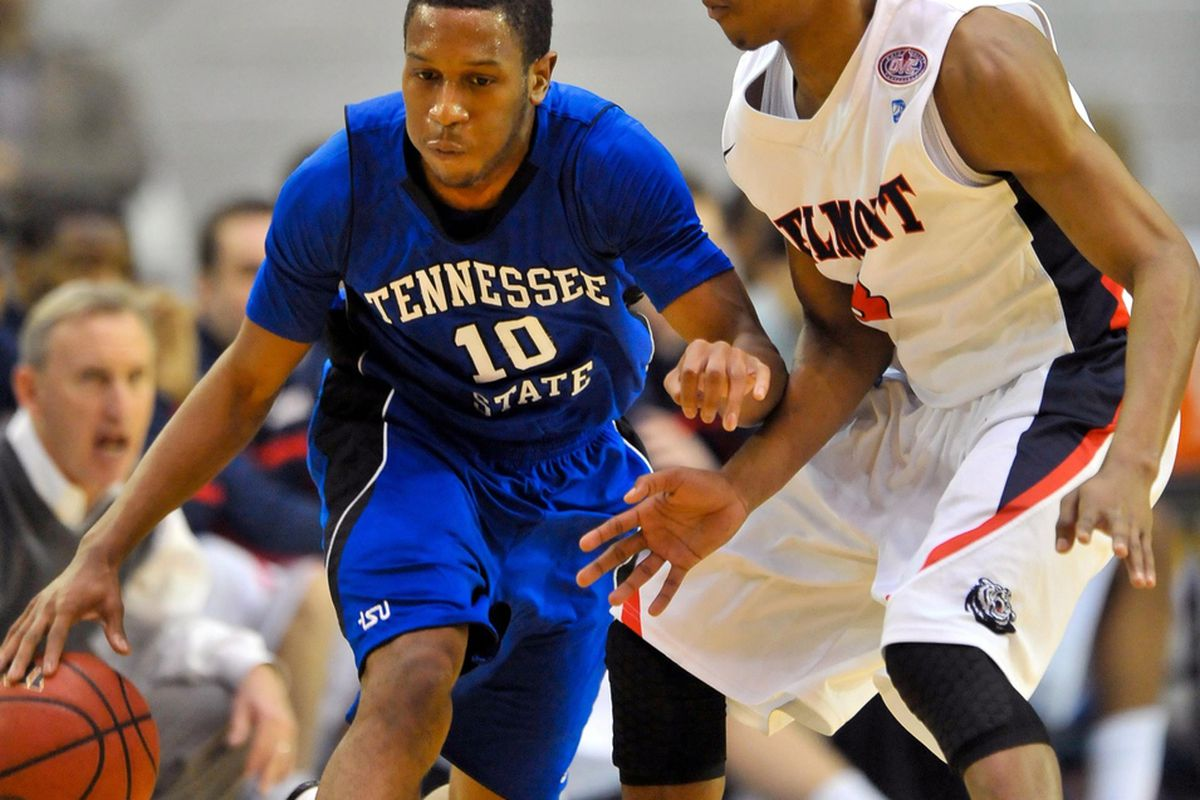 Deshawn Dockery is one of the quickest guards in the OVC.