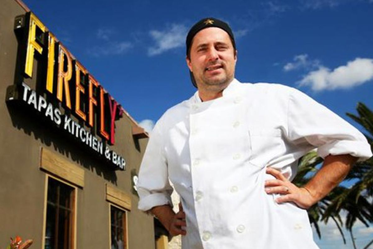 Firefly owner and chef John Simmons.