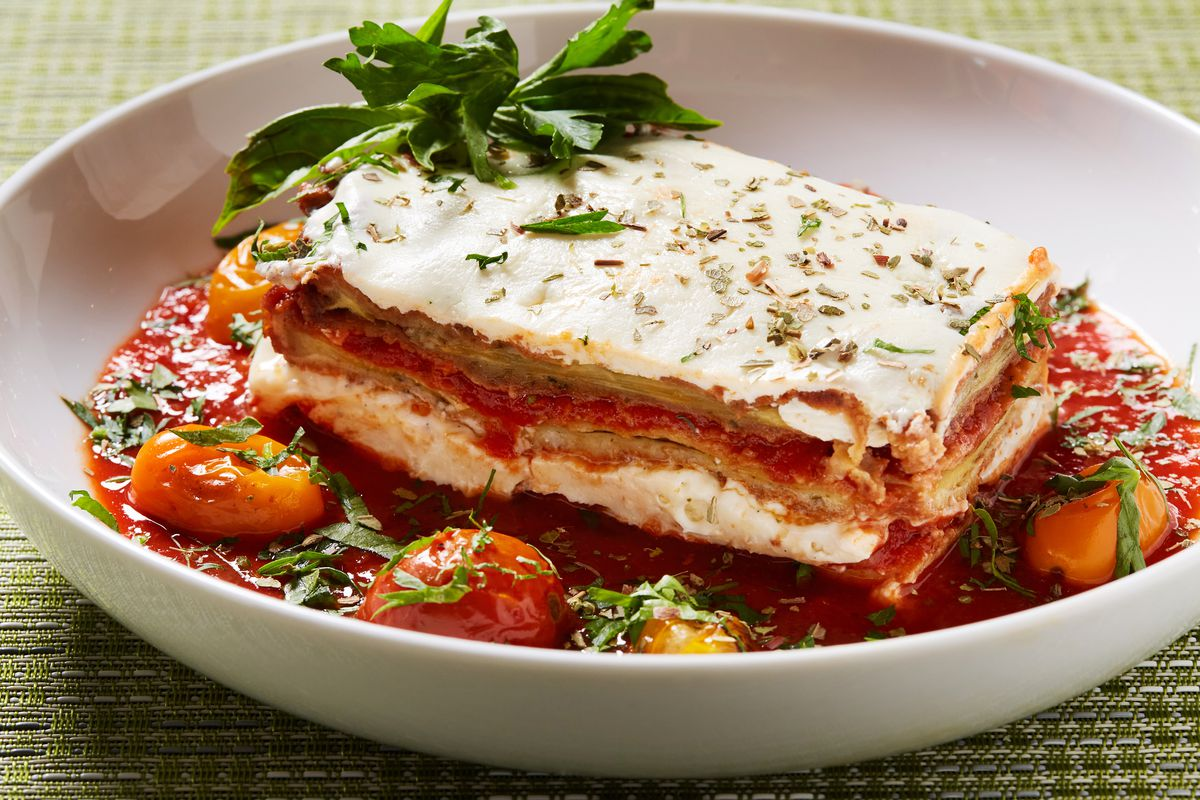 Lasagna is available to go from Toscana Market