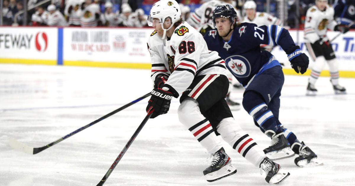 Blackhawks to finish 5-game road trip against Jets