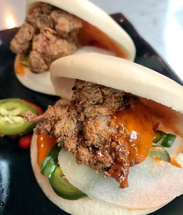 myers and chang fried chicken bao