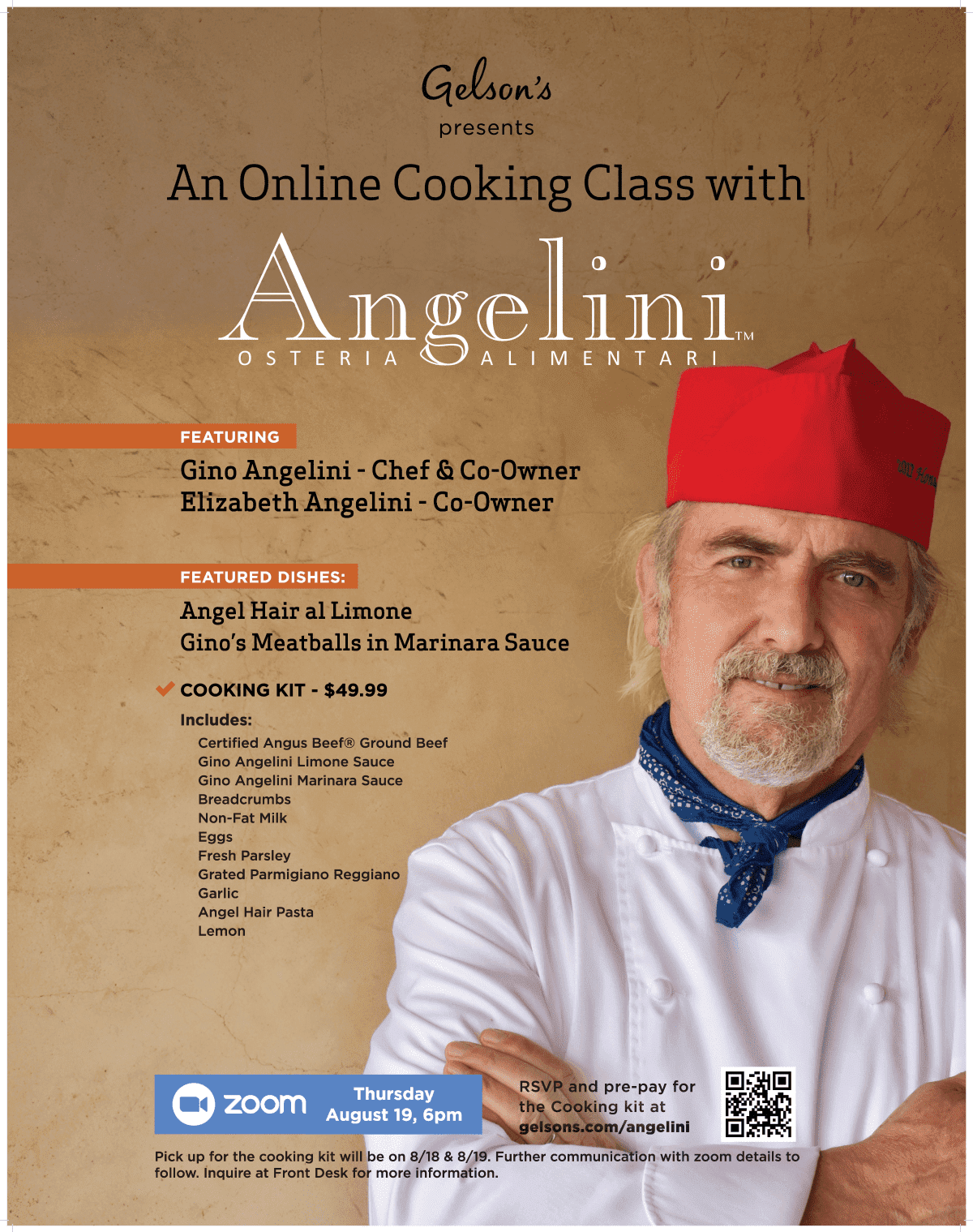 Angelini Osteria cooking class