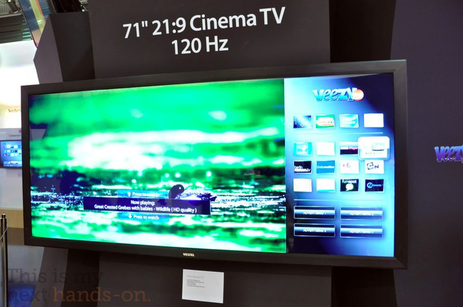 Vestel Brings 71 And 58 Inch 21 9 Cinema Tvs To Ifa