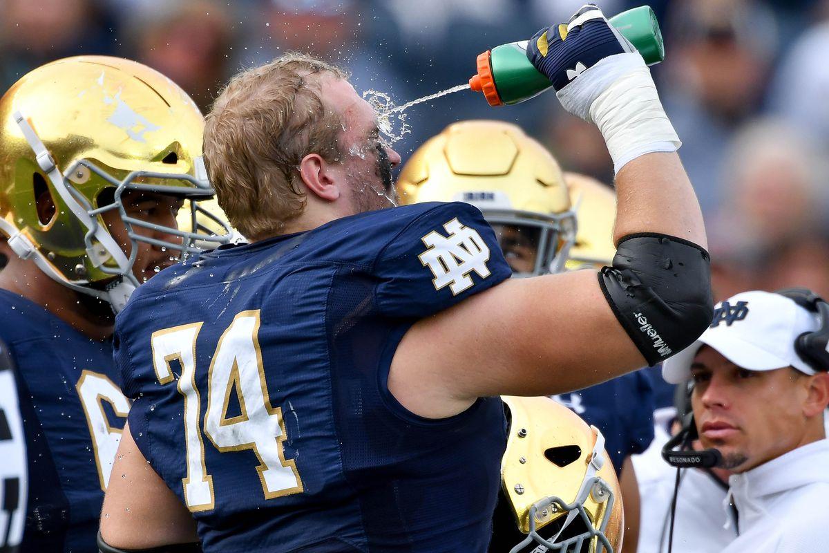 NCAA Football: Bowling Green at Notre Dame