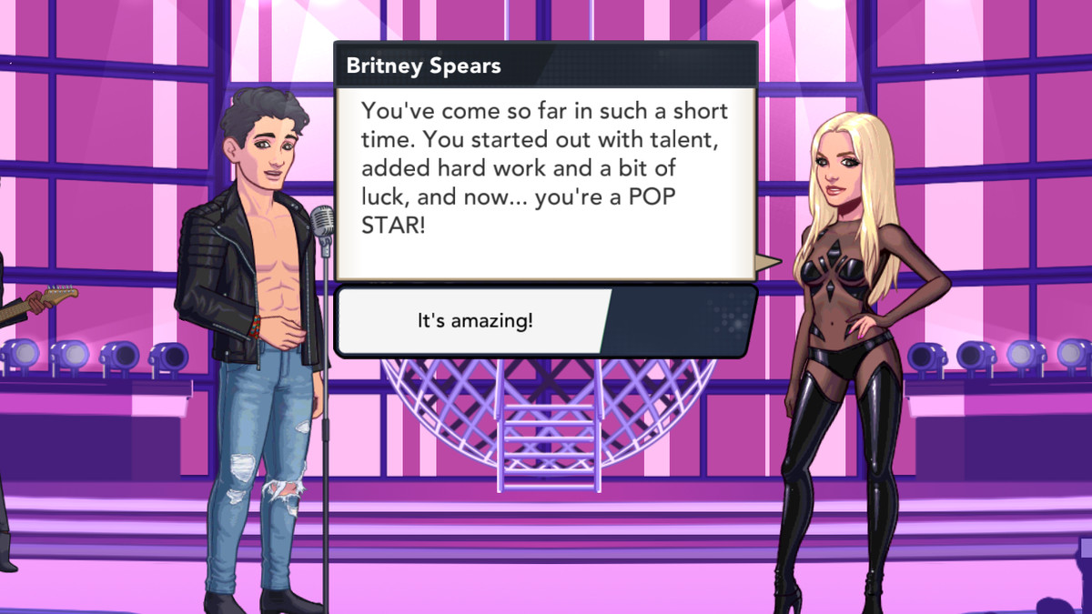 britney spears american dream screenshot
