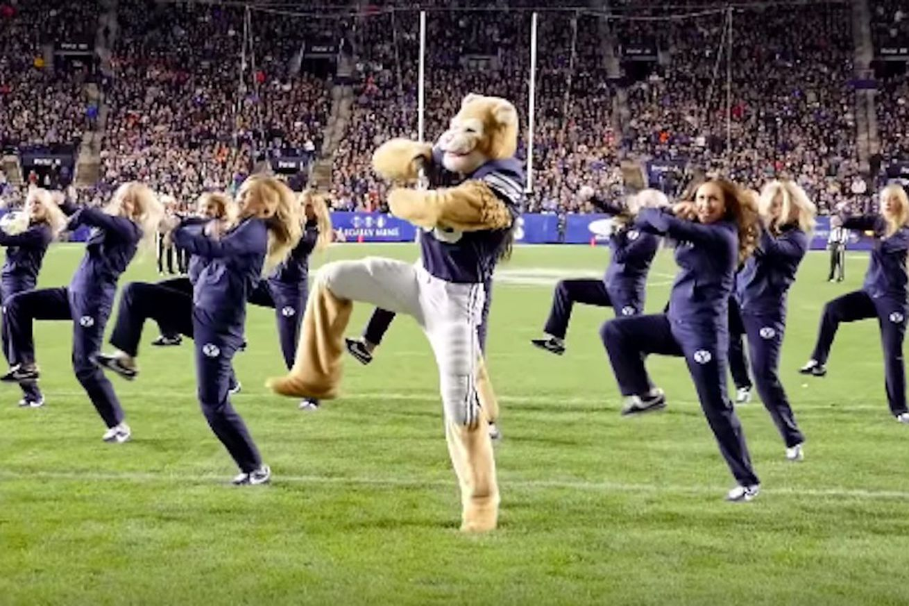 BYU's dancing gay cougar tops ESPN's 'best mascot moments of all time'