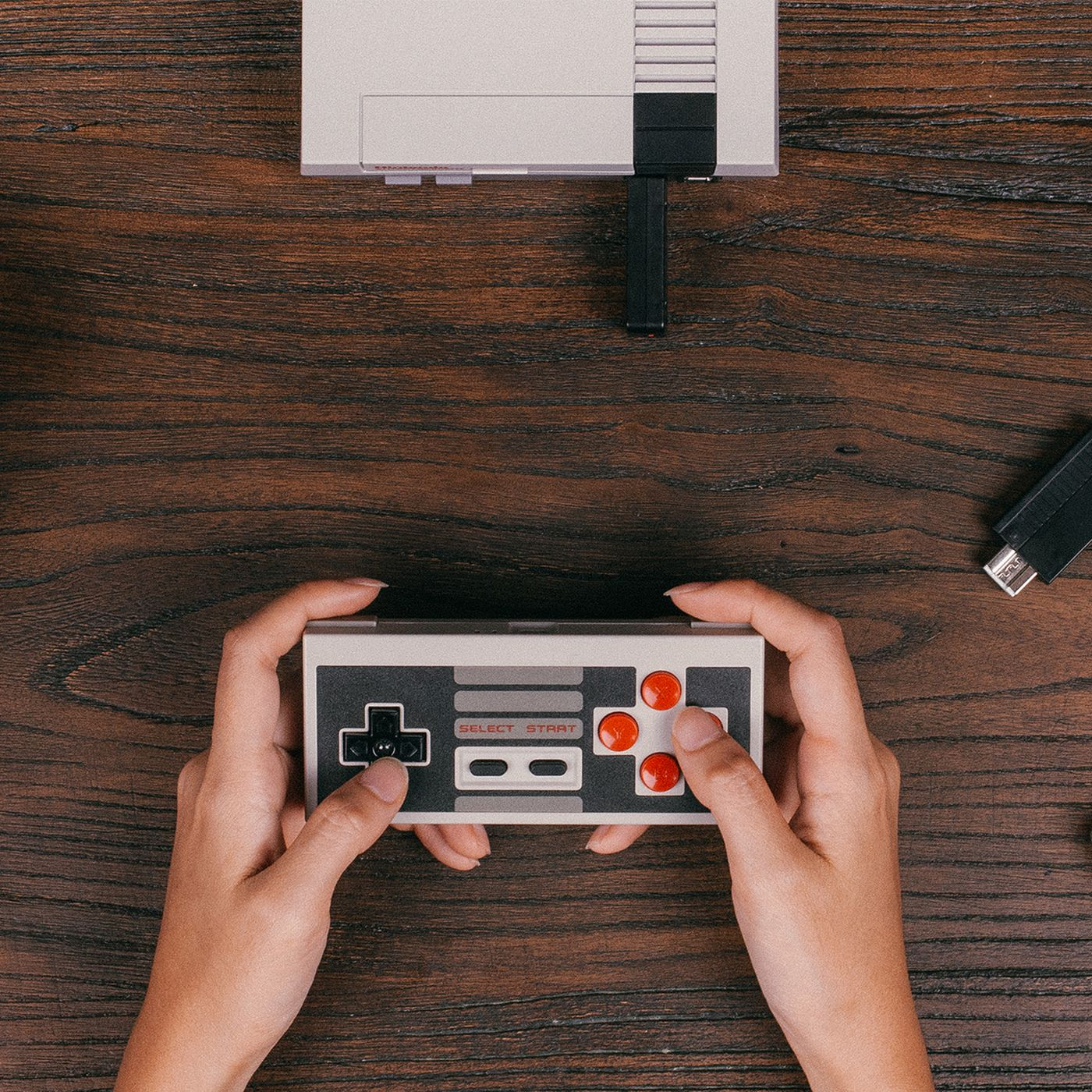 You Can Play The Nes Classic Wirelessly With This Tiny Adaptor 8bitdo Nes30 Pro Retro Bluetooth Controller For Switch Ios Android Pc Mac Verge
