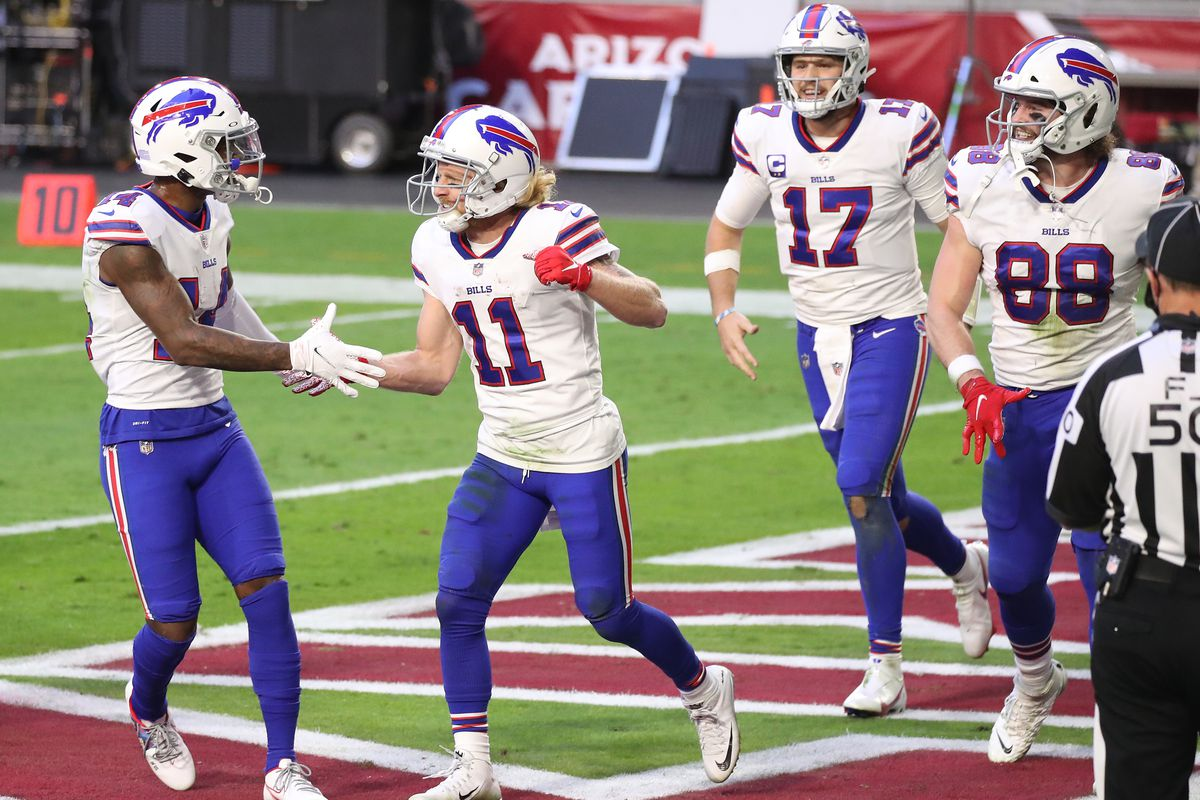 Bbr Relishing In Stefon Diggs And Cole Beasley S Strong Season To Date Buffalo Rumblings