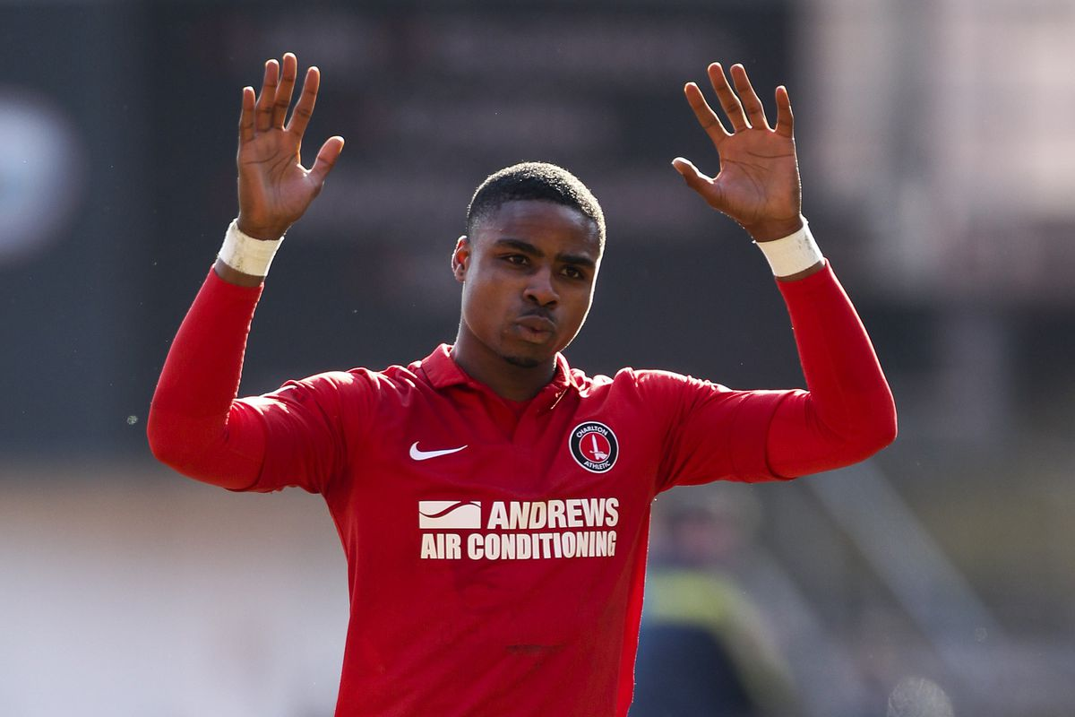 There are no pictures of Spurs's U21s on this site. Here is one of Jon Obika at Charlton instead.