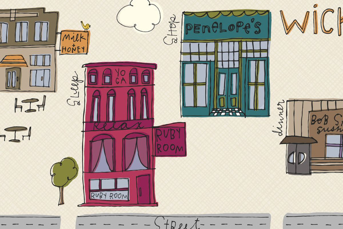 """Click to enlarge this<a href=""""http://www.etsy.com/listing/84572124/wicker-park-chicago-map"""">Wicker Park Chicago Map</a> poster by <a href=""""http://www.etsy.com/shop/LittleKorboose?ref=seller_info"""">Little Korboose</a> available on <a href=""""http://www."""
