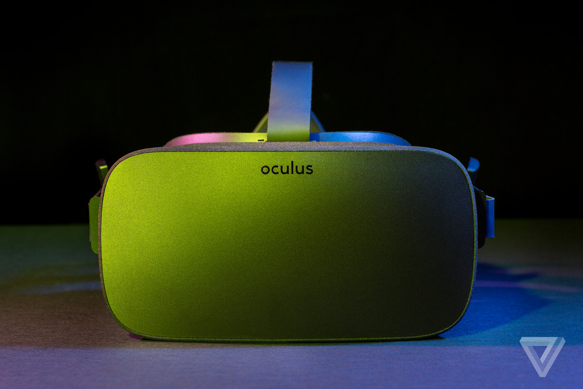 Oculus face-on