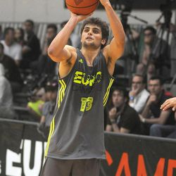 during adidas Eurocamp day three at La Ghirada sports center on June 10, 2013 in Treviso, Italy.