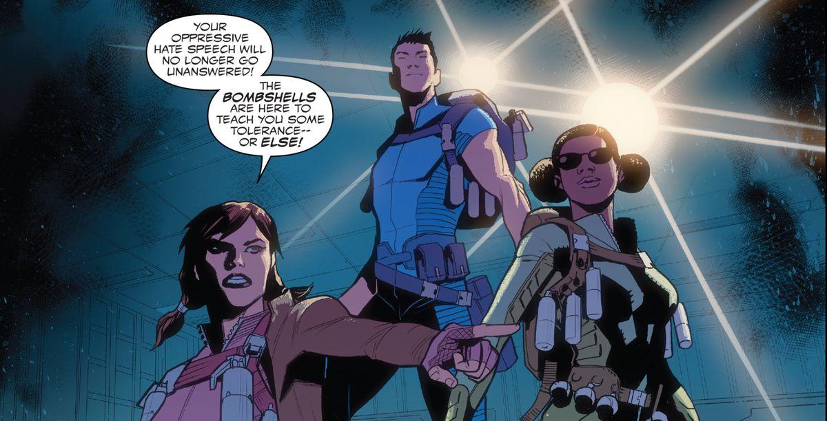Captain America: Sam Wilson #17 panel