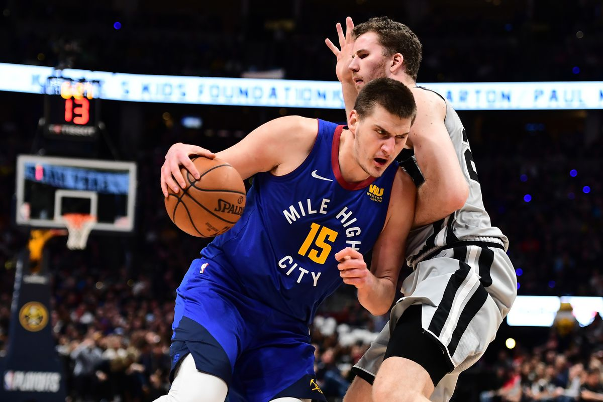 Image result for Nikola Jokic spurs 2019
