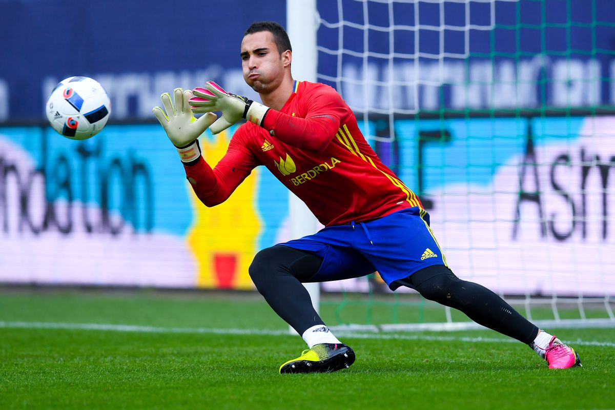 Sergio Asenjo hopes to see some action over the next week