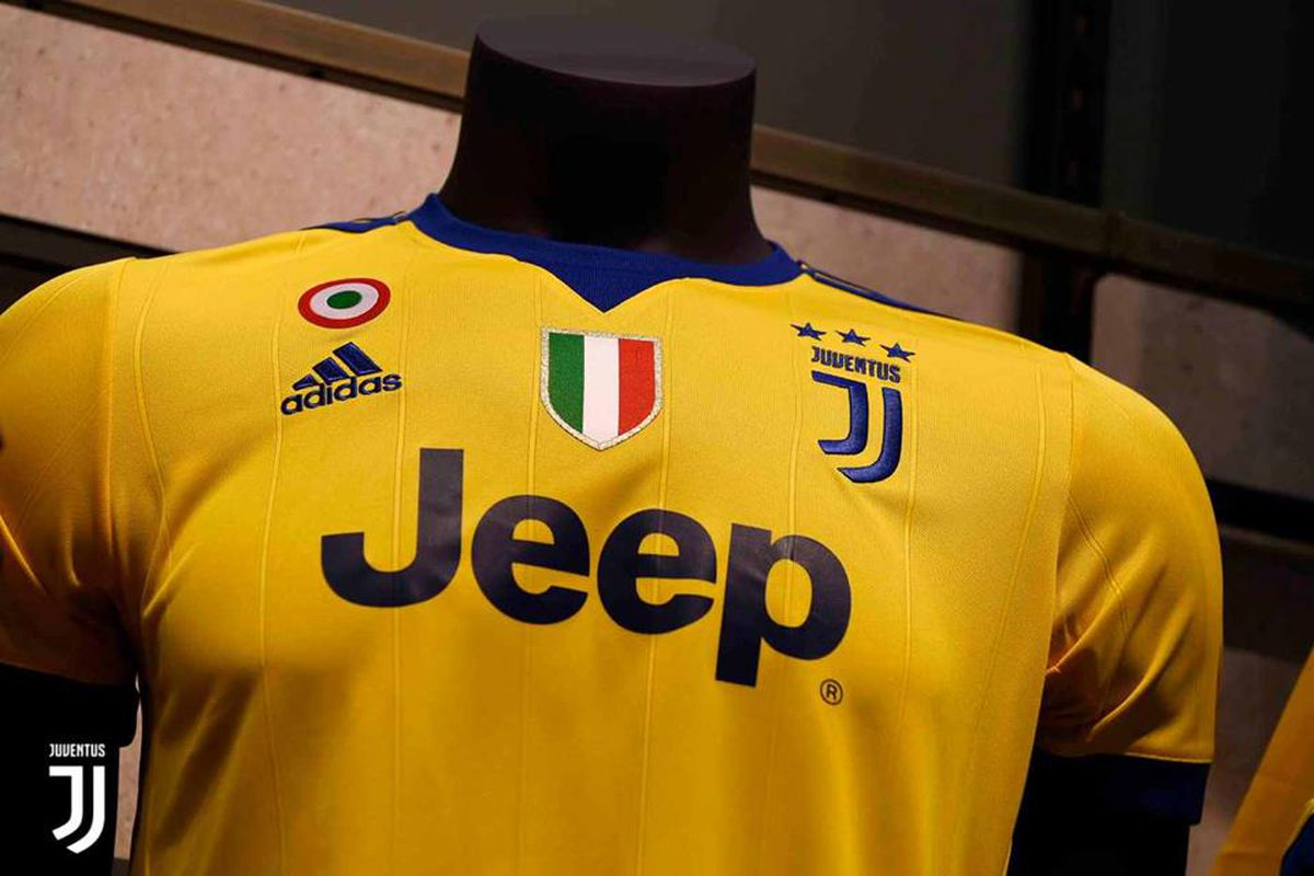 sneakers for cheap b5661 60cff Juventus' new 2017-18 adidas away kit has officially arrived ...
