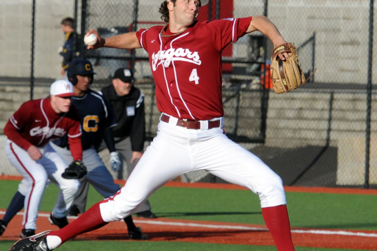 Chad Arnold is one of three weekend starters the Cougs will have to replace in 2012. <em>(Photo provided by WSU Sports Information Department)</em>