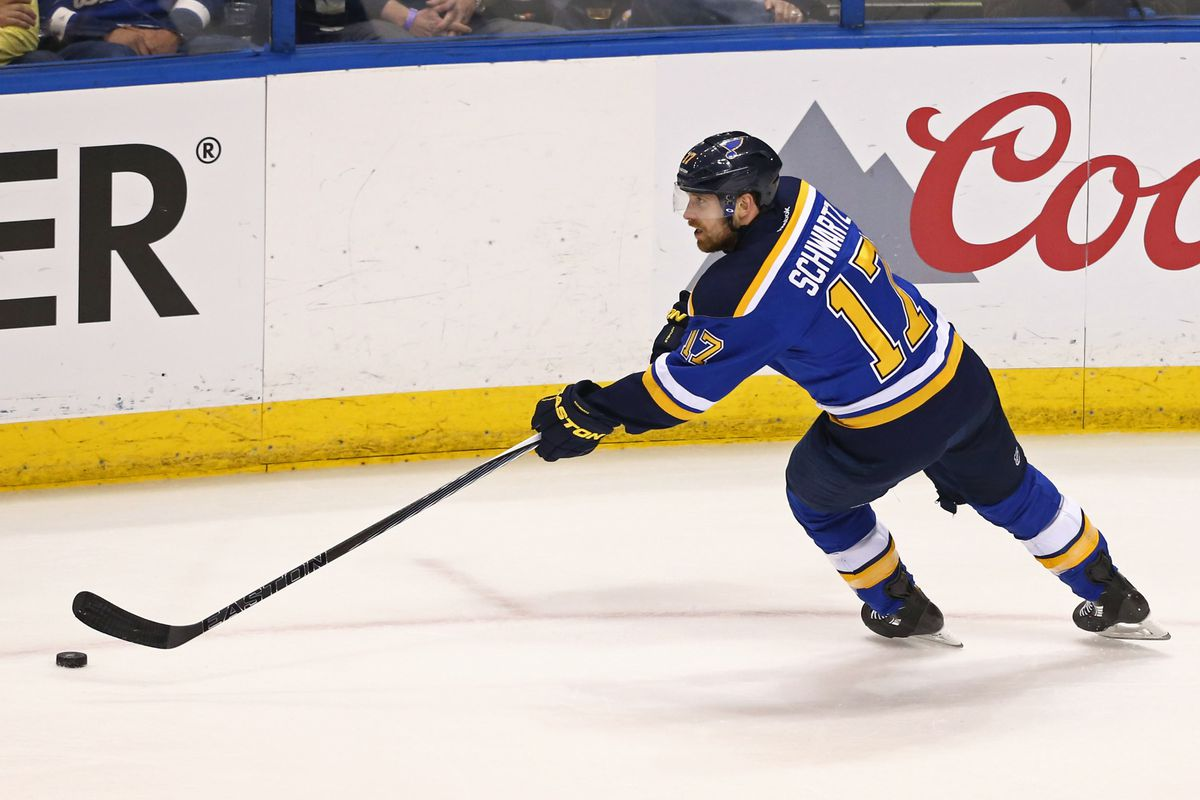 more photos 92e72 99c30 Blues and Jaden Schwartz produce perfect contract - St ...