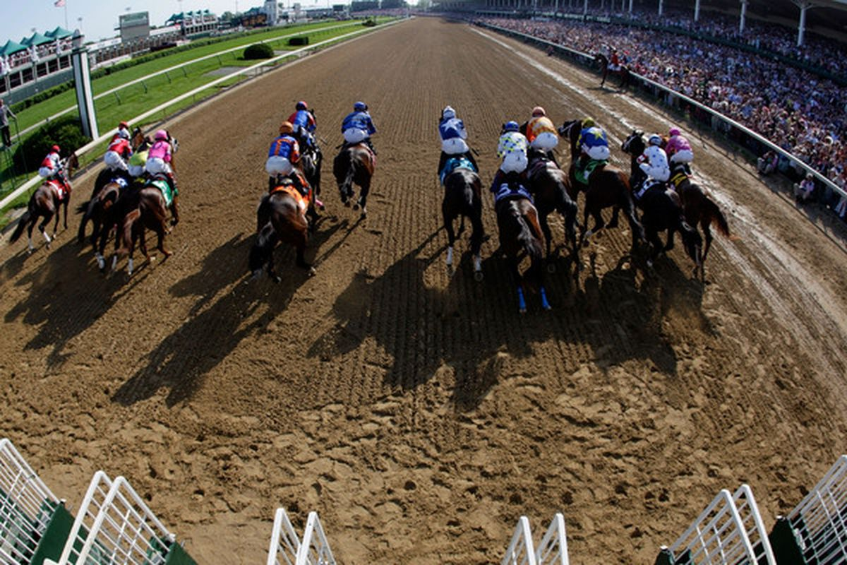 Kentucky Oaks Day Open Thread And Down The Stretch They Come