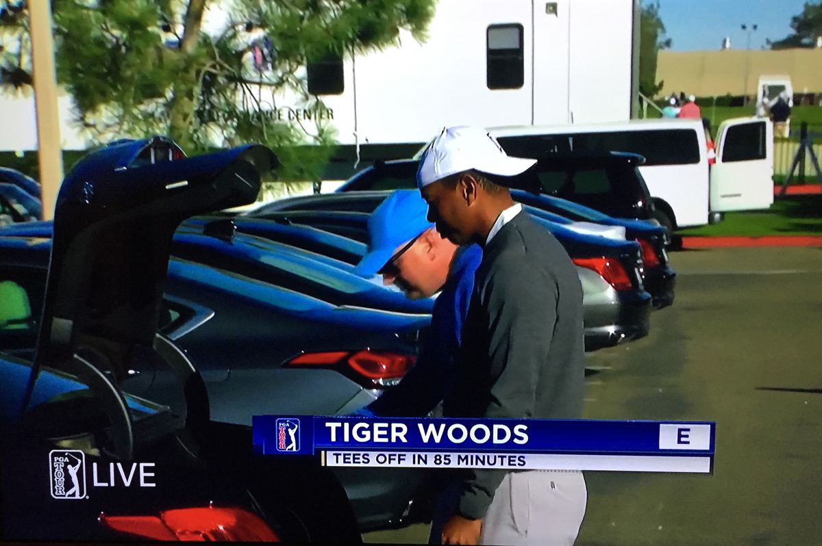 tiger woods scores and results  2019 farmers insurance