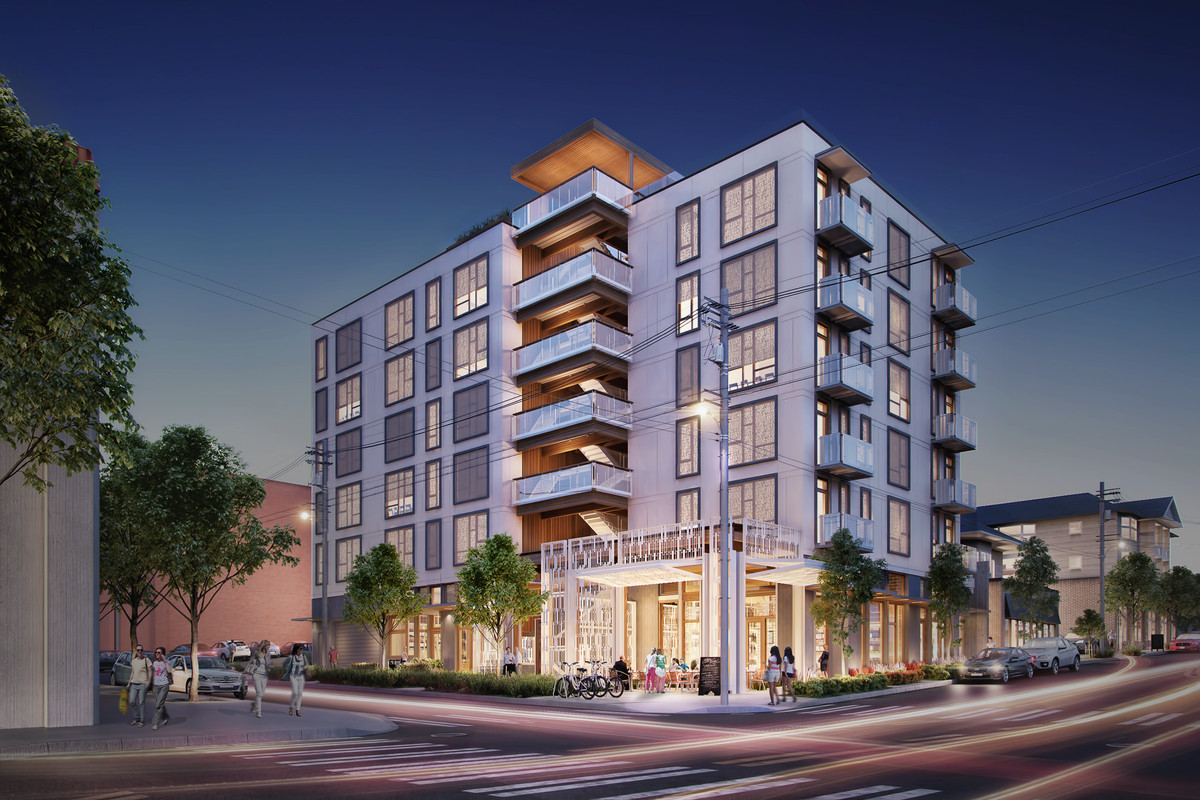 capitol hill development at 13th and pike will be condos curbed