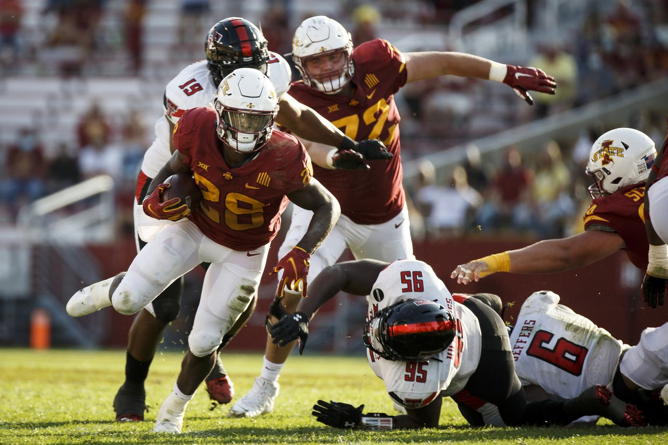 NCAA Football: Texas Tech at Iowa State
