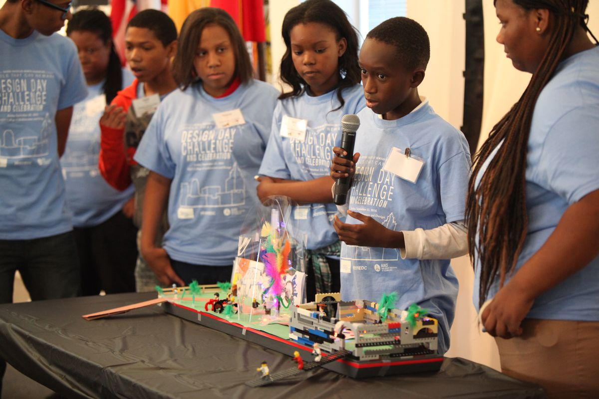 Schools That Can Newark tries to make learning relevant to students. In the fall, students came up with ideas for the redesign of a city park.