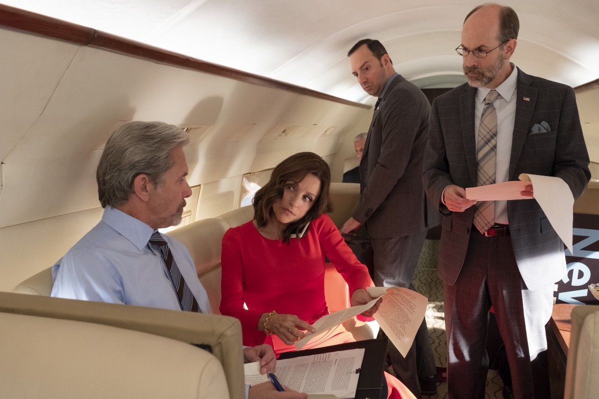 The world of Veep is like ours, but it's not the same world.