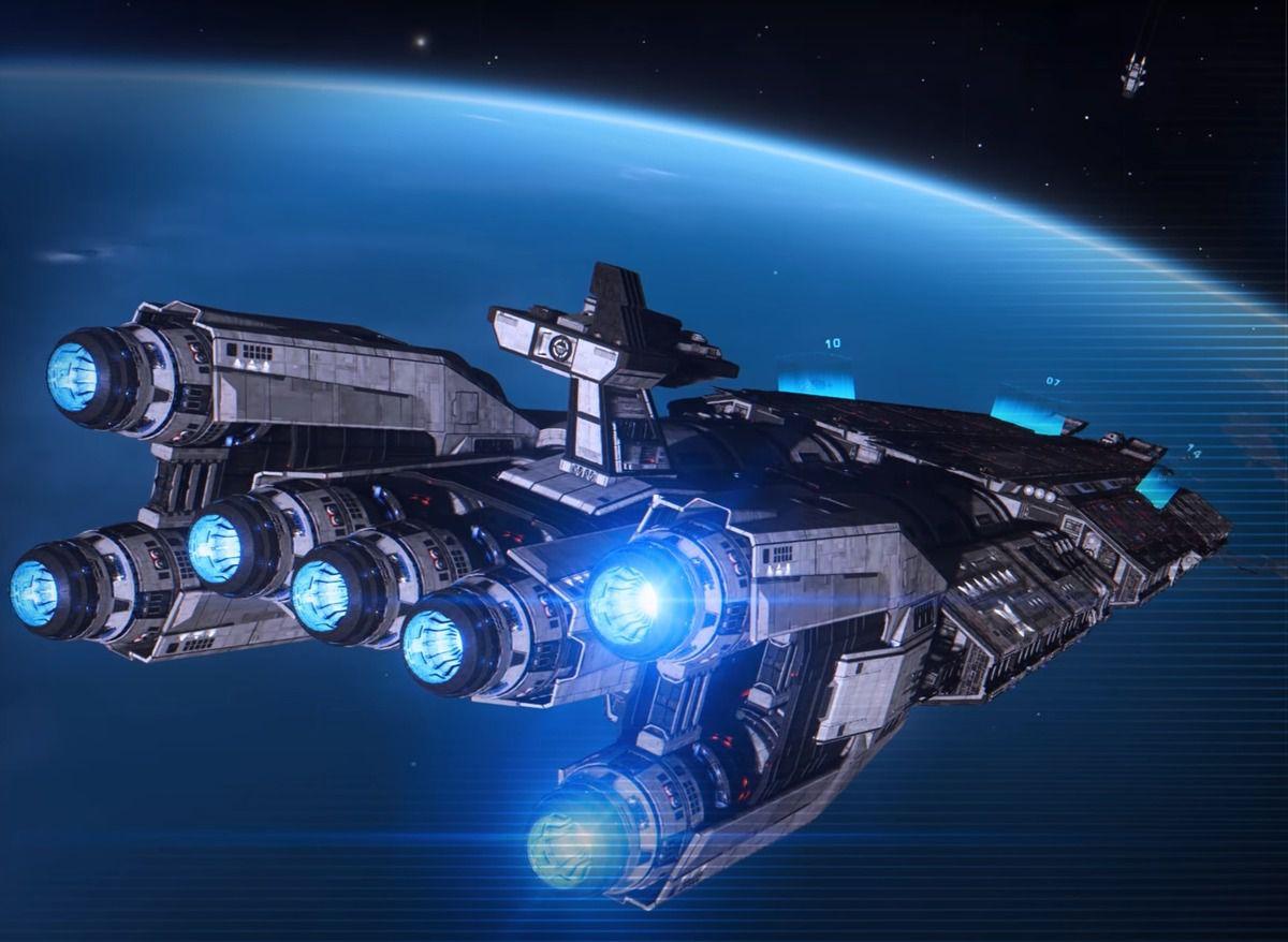The Fleet Carrier from Elite Dangerous