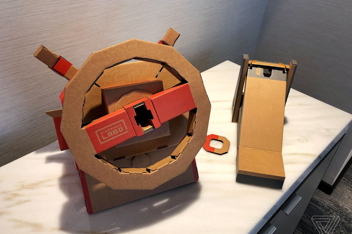 nintendo u2019s new labo vehicle kit gives you more ways to
