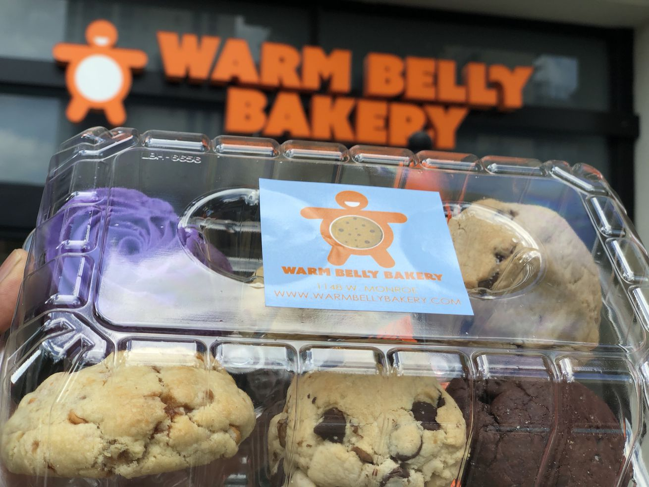 Warm Belly Bakery is now open in Lincoln Park.