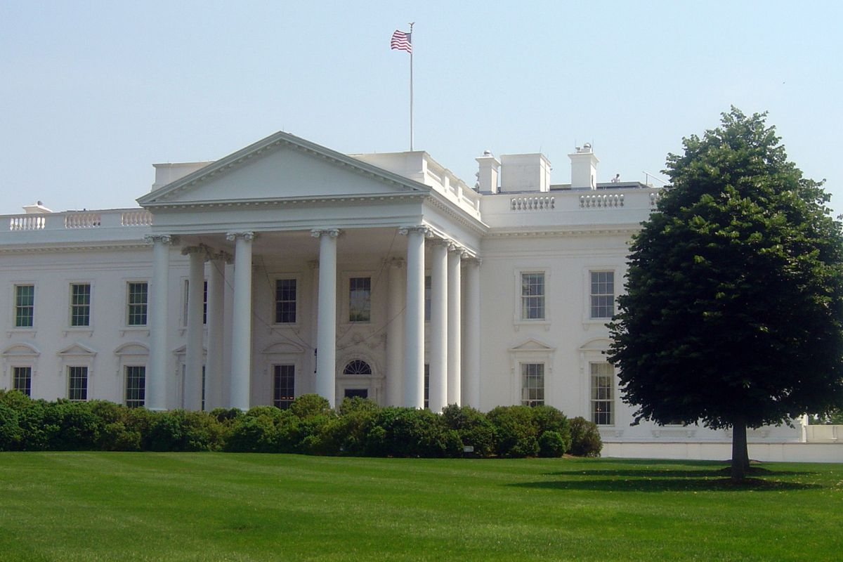 The White House. (Ei Kebir Lamrani / AFP via Getty Images)