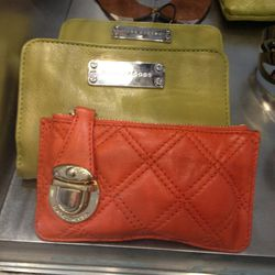 Marc Jacobs Card Holder, $60. Marc Jacobs Wallet, $90